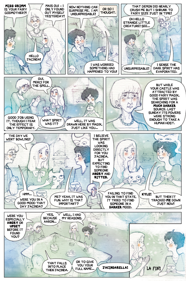 Rosie and Jacinda #2: Demon Cloud Page 22